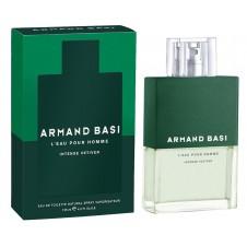 Armand Basi L'Eau Pour Homme Intense Vetiver - Туалетная вода