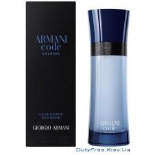 Armani Code pour Homme Colonia - Туалетная вода