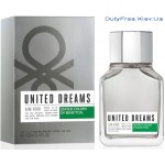 Benetton United Dreams Men Aim High - Туалетная вода