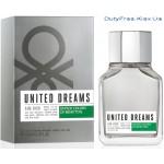 Benetton United Dreams Men Aim High - Туалетная вода