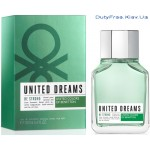 Benetton United Dreams Men Be Strong - Туалетная вода