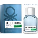 Benetton United Dreams Men Go Far - Туалетная вода