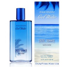 Davidoff Cool Water Exotic Summer Man - Туалетная вода