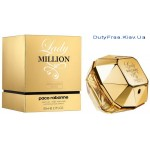 Paco Rabanne Lady Million Absolutely Gold - Парфюмированная вода