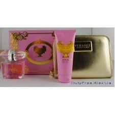 Versace Bright Crystal - Подарочный набор с косметичкой