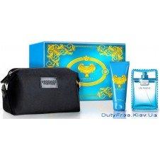 Versace Man Eau Fraiche набор - edt 100ml + sh/gel 100ml + сумка