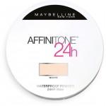 Maybelline Affinitone 24h Waterproof Powder - Пудра компактная водостойкая