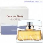 Nina Ricci Love in Paris - Парфюмированная вода
