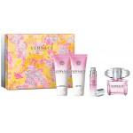 Versace Bright Crystal - Подарочный набор из четырех предметов